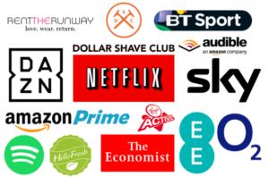 thumbnail Thematics Subscription Economy